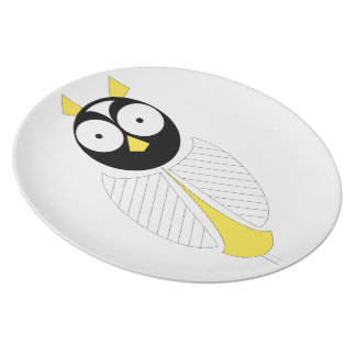 Dad Owl Plate