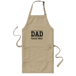 Dad. Pancake Maker Long Apron