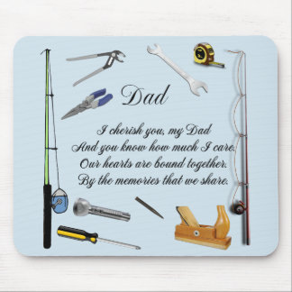 DAD QUOTE MOUSE MAT