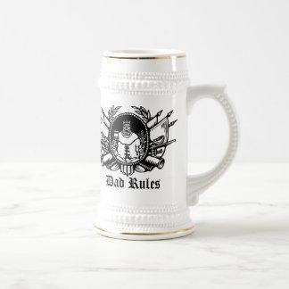 Dad Rules! Beer Steins