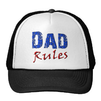 Dad Rules Hats