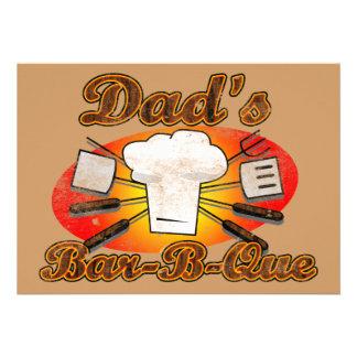 Dad s Bar-B-Que Invites