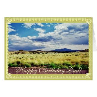 Dad s birthday- landscape greeting cards