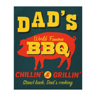 Dad s Cooking Stretched Canvas Prints