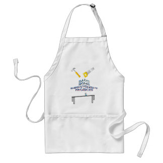Dad s home improvements projects handyman apron