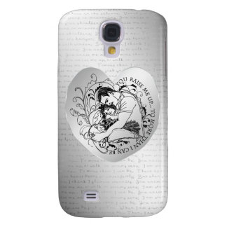 Dad s little girl line drawing text design samsung galaxy s4 cases