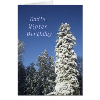 Dad s Winter Birthday Card