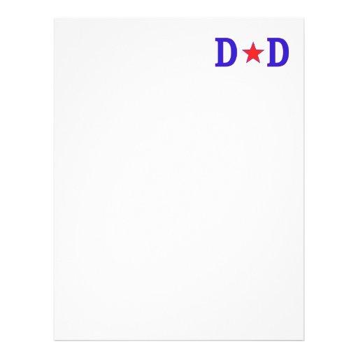 Dad Star Dad Flyer Design