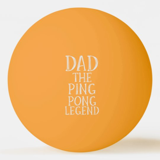 Dad The Ping Pong Legend Glow in the