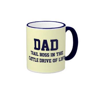 DAD The Trail Boss Mug (Blue)