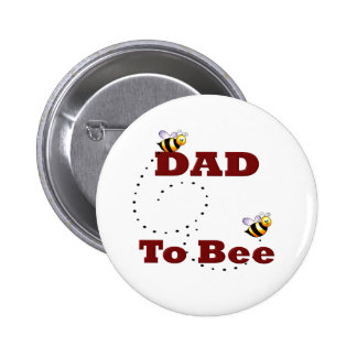 Dad to Be 6 Cm Round Badge