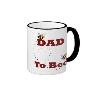 Dad to Be Ringer Mug