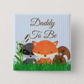 Dad to be Woodland Creature Forest Animals Pin