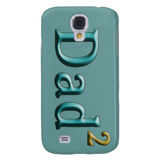 Dad to the Second Power Father's Day Gifts Galaxy S4 Case