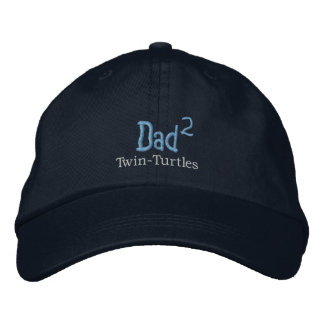 Dad-Turtles Hat (M) Embroidered Baseball Cap