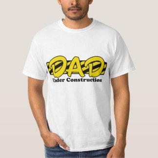 Dad Under Construction Shirt