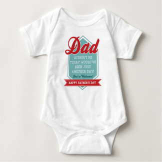 Dad Without Me Baby Onsie Baby Bodysuit