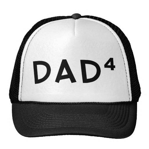 Dad x 4 hats