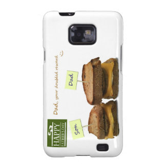 Dad, your doubled Reward - Father's Day Gift Galaxy S2 Case