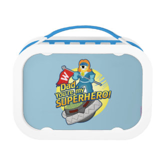 Dad, You're My Superhero Lunch Box
