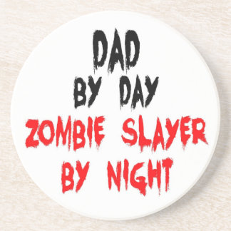 Dad Zombie Slayer Coaster