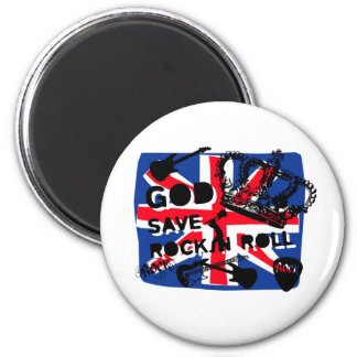 Dadawan God save Rock'n'Roll Refrigerator Magnet