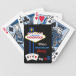 Dadchelor Party Personalised Playing Cards