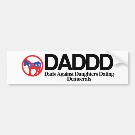 DADDD BUMPER STICKER