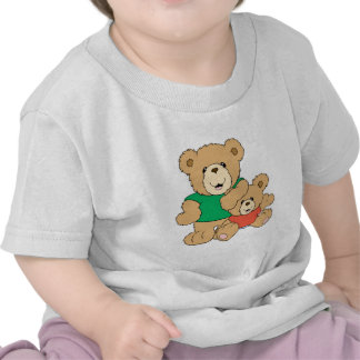 Daddy and Baby Boy Bear Tee Shirts