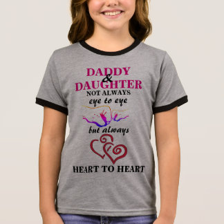 Daddy and Daughter Ringer T-Shirt