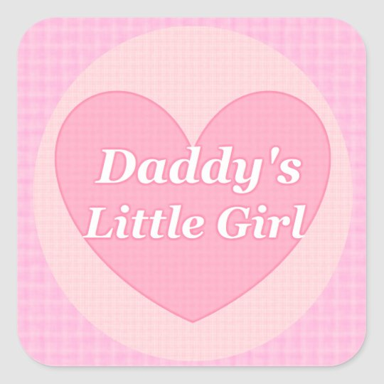 Daddy and Little Stickers