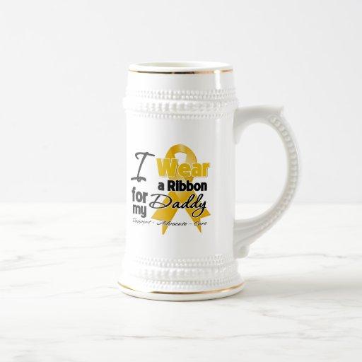 Daddy - Appendix Cancer Ribbon Coffee Mug