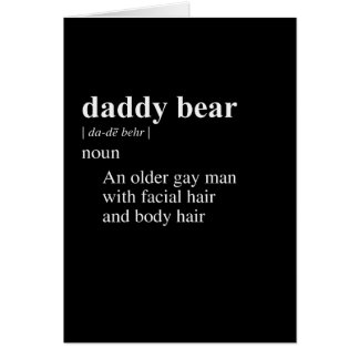 Gay bear slang and code