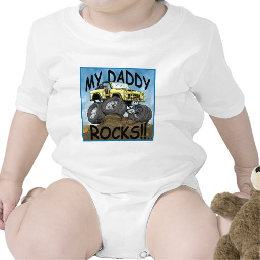 Daddy_Bronco_Yellow.jpg Baby Bodysuits