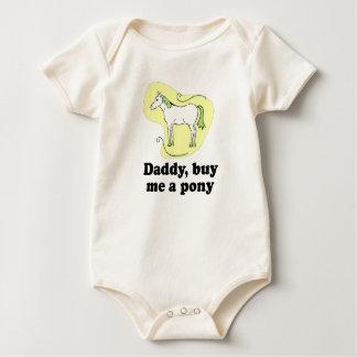 Daddy, buy me a pony T-shirt