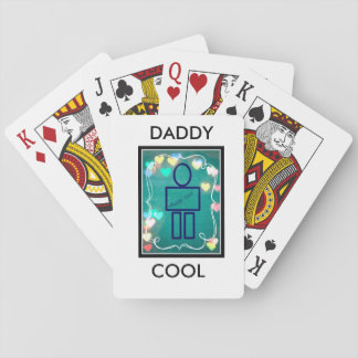 """Daddy Cool"" Playing Cards, Standard Index faces Card Deck"