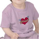 Daddy - Custom Heart Tattoo T-shirts & Gifts
