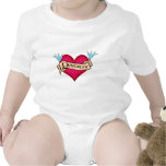 Daddy - Custom Heart Tattoo T-shirts & Gifts