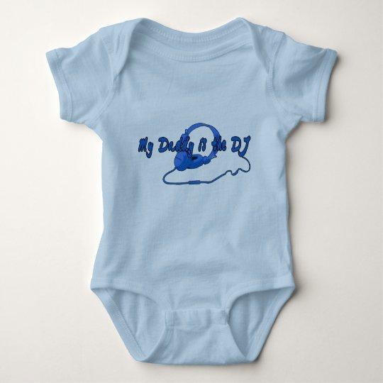 Daddy DJ for Boys Baby Bodysuit