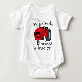 Daddy Drives A Tractor T-shirt