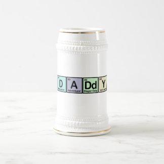 Daddy Elements Beer Stein