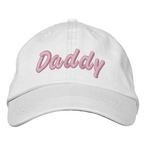 Daddy Embroidered Hat