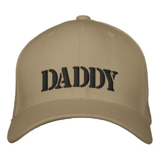 DADDY Embroidered Peaked cap Embroidered Baseball Cap