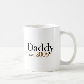 Daddy Est 2008 Mugs