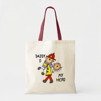 Daddy Firefighter Children's Gift Tote Bag