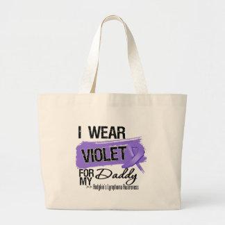 Daddy Hodgkins Lymphoma Ribbon Tote Bag