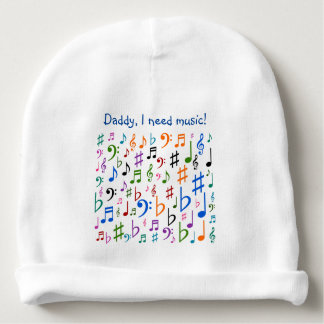 Daddy, I need music! Baby Beanie