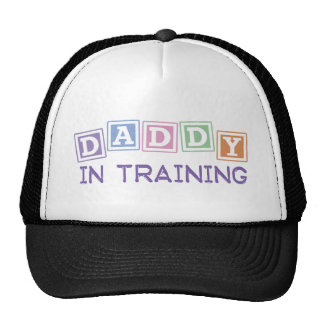 Daddy In Training Trucker Hats