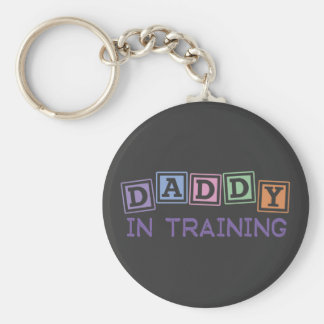 Daddy In Training Key Ring