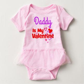 Daddy Is My Valentine Baby Bodysuit
